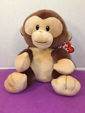"NWT-9"" Ty Baby - BANANA the Monkey New BabyTy Stuffed Animal"