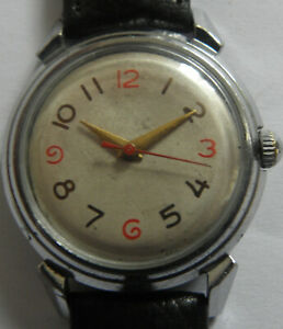 WATCH RODINA-22jew--AUTOMATIC USSR WRIST WATCH MEN,S