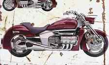 Honda Valkyrie Rune 2003 Aged Vintage Photo Print A4 Retro poster