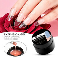 Soak off Poly Builder UV Gel Nail Tips Extension Nail Art Acrylic Manicure