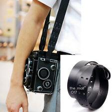 Genuine Leather CrossOver for Rolleiflex Camera Strap (Black)