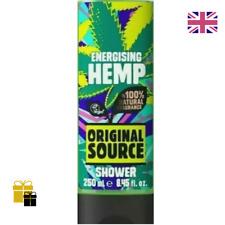 Original Source Energising Hemp Shower Gel 100% Vegan New Hot Item 250ml