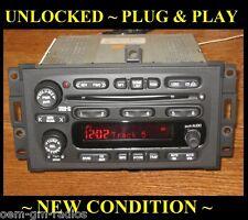 UNLOCKED ~ 2004-2008 Pontiac Grand Prix AM/FM/6 CD Changer Radio Stereo DELCO GM