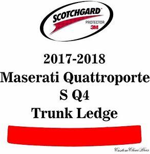 3M Scotchgard Paint Protection Film Pre-Cut 2017 2018 Maserati Quattroporte S Q4