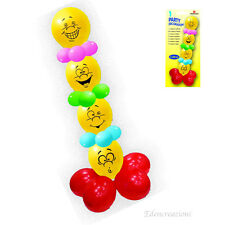 PALLONCINI GONFIABILI SMILE DECORAZIONI COMPLEANNO FESTE PARTY DECORATION BALL
