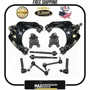 Chevrolet Colorado High Quality Suspension Kit Inner Outer Tie Rod Ends New