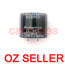 Capacitor 150uf 450V 105°C  30X25mm for LENOVE LCD Monitor Screen Repair Rubycon