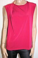 Jane Lamerton Magenta Shoulder Zip Feature Sleeveless Top Size 16 BNWT #SG48