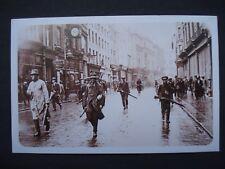 Nostalgia Reproduction Post Card IRA Street March Dublin, 1922