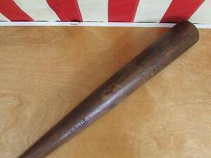 """Vintage 1910s Spalding League Wood Baseball Bat Converse Shoes Promo 32"""" Antique"""