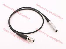 Male 0B 2pin to 4pin mini XLR Mini-XLR Power Cable for TVLogic TV Logic Monitor