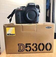 Nikon D5300 24.2MP Digital SLR Camera Black Body