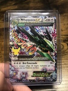 Carte Pokémon M Rayquaza EX 76/108 Célébrations 25 ans FR