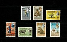 DE560 BRITISH BECHUANALAND 1961 Local motifs short set, top values only MH