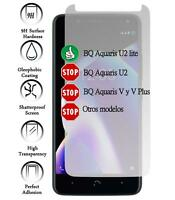 Tempered glass screen protector film for BQ Aquaris U2 Lite Genuine 9H Premium