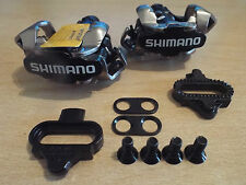 Shimano PD M520 SPD Clipless MTB Pedals with SH51 Cleats Black Genuine