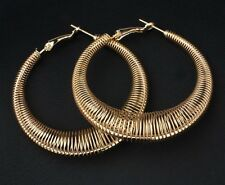 Earrings Hoop Gold Rings African Ethnic Boho Tribal Afghan Indian Gift Balee UK