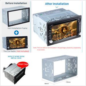 Universal 2Din Fascia Mounting Frame Dash Kit Car Radio Stereo DVD Installation