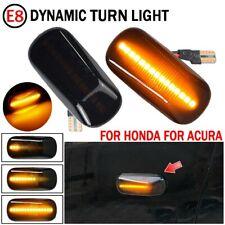 Dynamic Turn Signal Light Side Marker Lamp Blinker For Honda Civic Accord Acura Fits Rsx