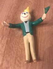Jack In The Box Promo Bendable Figure Green Flag