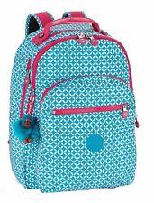 Kipling Clas Seoul Large Backpack BLUE TILE PR Authentic Genuine NWT