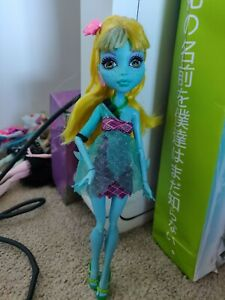 Monster High Doll 13 Wishes Lagoona Blue Doll