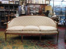 Wonderful Antique Sofa Sofa 'Corbeille Louis XVI Walnut Period Napoleon III