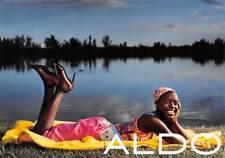 Aldo Shoes Advertising Postcard