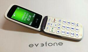 Doro PhoneEasy 612 Mobile Phone, Loud, Big Button, Easy, Aubergine, Unlocked