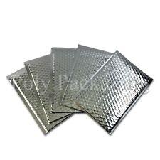 50x Metallic Rose Gold Foil Bubble Padded Envelopes 180x230mm