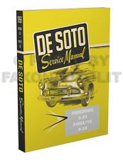 1956 DeSoto Shop Manual Firedome Fireflite De Soto Repair Service Book S23 S24