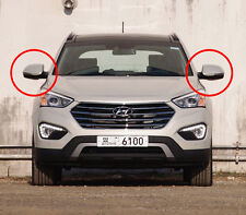 LED Reflector Power Folding Side Mirror Genuine For 13~2017 Hyundai Santa Fe