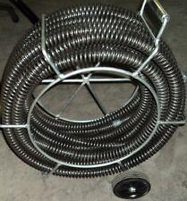 Bluerock 1 14 Sectional Drain Pipe Cleaning Snake Fits Ridgid K1500 62280