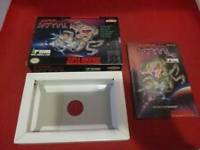 Super R-Type Super Nintendo SNES Empty Box & Manual ONLY (no game)