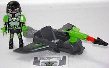Astronaute + Glider + canon playmobil à Space Alien Vaisseau Spatial Fusée 6195 1421