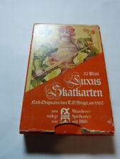 jeu de cartes LUXUS SKATKARTEN   (cp10)