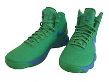 Nike Hyperdunk 2017 PROMO SAMPLE RARE COLORWAY  Lucky Green / Battle Blue Size 9