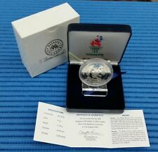 1996 Singapore 100th Anniversary of the Olympics Silver Proof Medallion