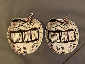"""Lot of 2 MOTHER LOVE BONE 4"""" x 4"""" Band Logo Sticker FAST SHIP! Andrew Wood"""