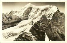 Mt. St. Elias Alaska AK Real Photo Postcard