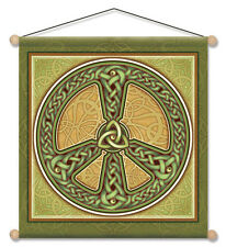 "Mandala Arts 30"" X 30"" Temple Banner ""Celtic Peace"" (TB12)"