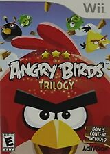 Angry Birds Trilogy Nintendo WII Video Game Original UK Release