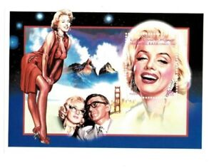 Sahara - Marilyn Monroe Stamp Souvenir Sheet - MNH