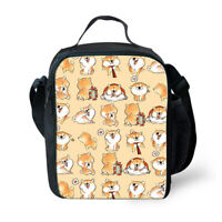 Shiba Inu Dog Insulated Lunch Box Bento Box Food Storage Containers Kids Girls