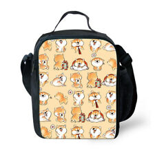 Shiba Inu Dog Insulated Lunch Box Bento Box Food Storage Containers Kids Girls