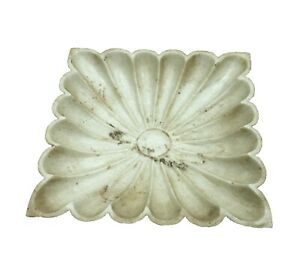 Handmade Marble Flower Bowl / Fruit Bowl Carved Stone Home Decorative Gifts