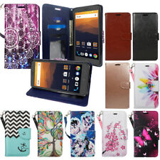 For ZTE Grand X Max 2 Imperial Max Max Duo LTE ZMax PRO Case Wallet Pouch Design