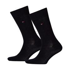 6 Paar Tommy Hilfiger Herren klassische Socken Strümpfe 39-42 dunkelblau