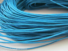 Blue Necklace Cord 10 Metres Turquoise (1.5mm) Waxed Cotton Cord Jewellery Cord