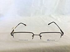 M+ Flex Designer Eyeglass Frames Glasses Men RX-able Memory Titanium 500 Brown